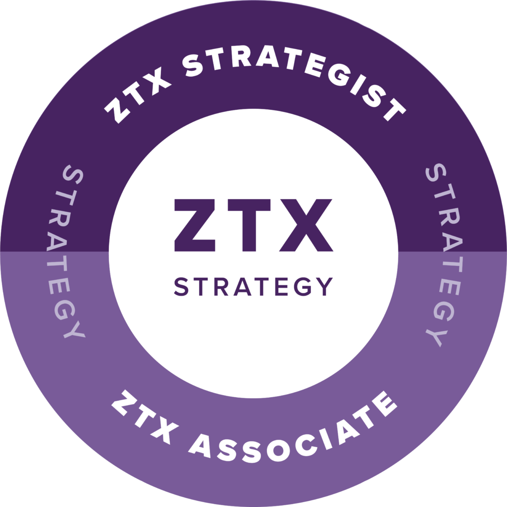 Forrester ZTX Strategy badge